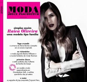 Revista MODA tem Raica Oliveira, Beatriz Milhazes e Cindy Sherman
