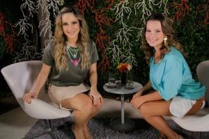 """Claudia Leitte recebe Fernanda Souza em seu primeiro """"Superbonita"""""""