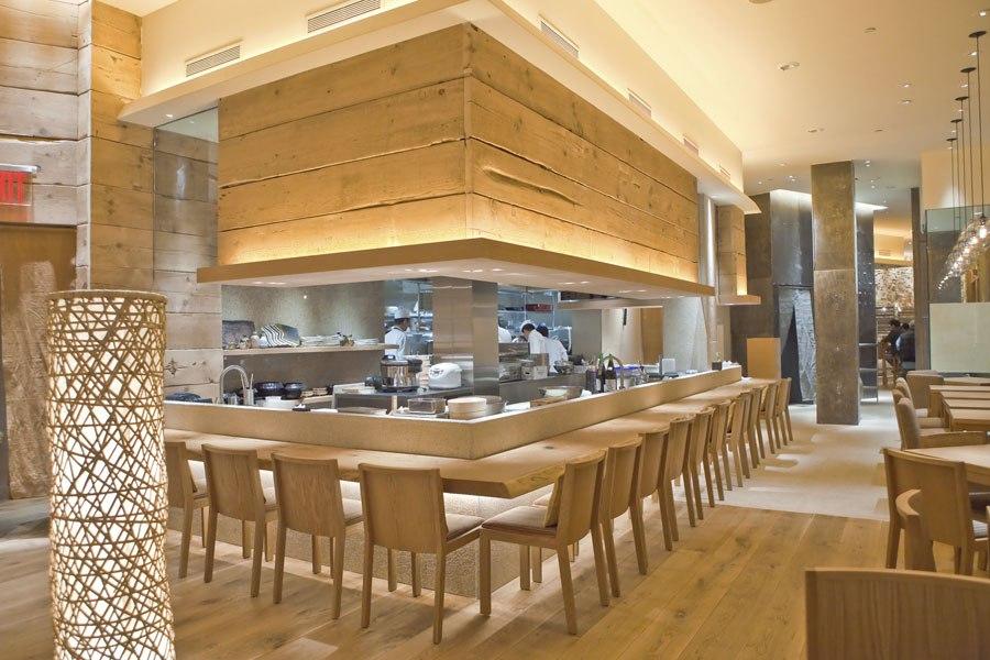"""architectural digest"" elege restaurantes design pelo"
