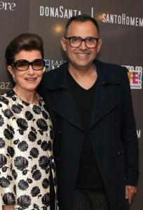 Costanza Pascolato e Paulo Borges em Recife para bate-papo fashion