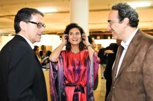 Festa artsy no prédio da Bienal com a abertura da SP-Arte nessa quarta-feira. Glamurama estava lá!
