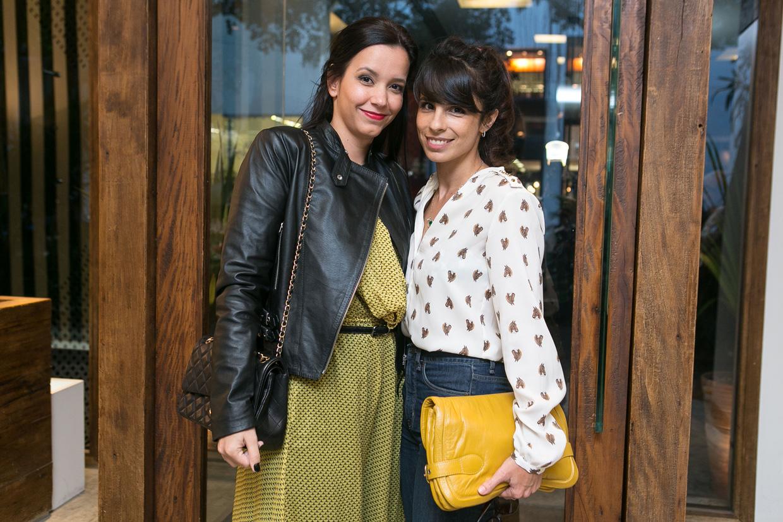 Priscila Barcelos e Maria Ribeiro