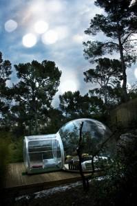 Hotel na França oferece quarto para dormir sob as estrelas