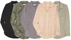 A marca de camisas femininas Equipment ganha loja em NY