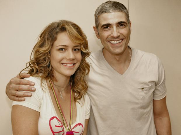 Leandra Leal e Reynaldo Gianecchini
