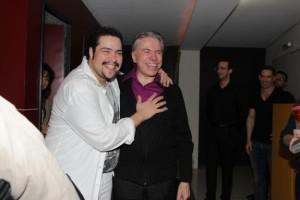 Tiago Abravanel fala da emoção de ter o avô Silvio Santos na plateia