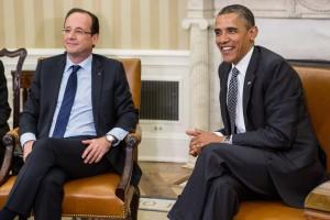 François Hollande discute crise europeia com Obama na Casa Branca