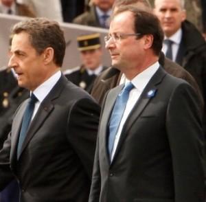 Após derrota, Sarkozy se encontra com sucessor François Hollande em Paris