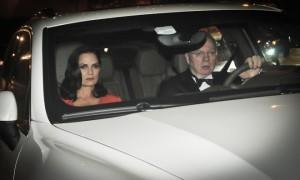 Luiza Brunet e Lirio Parisotto vão ao casamento de Tammy Kattan e David Safra