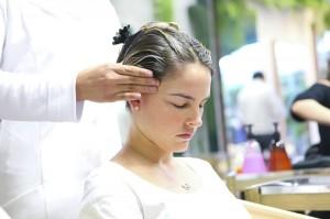Lulus em ação e em busca do cabelo saudável no Laces