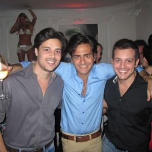 Sergio K levou os amigos para comemorar seu aniversário em NY
