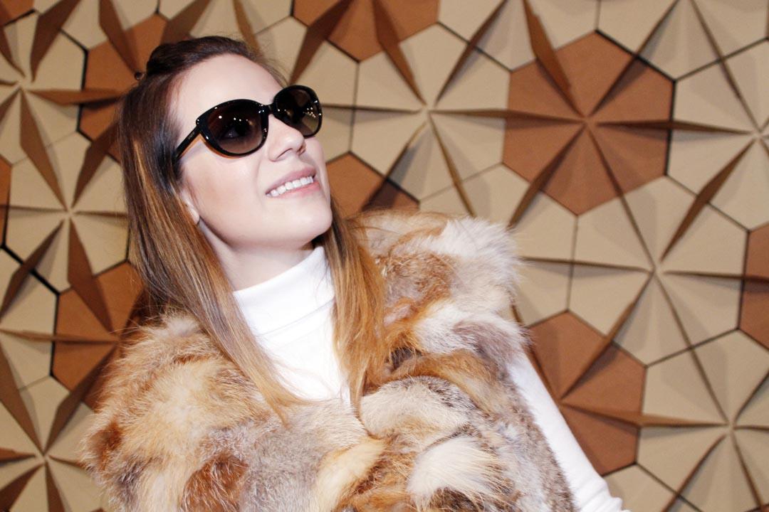 Sabe quem a gente encontrou usando óculos de sol da Vogue Eyewear ... 8c82fec916