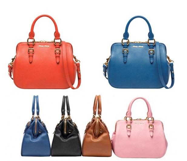 07b2b7f45a4 Nova bolsa da Miu Miu é puro desejo! Compartilhe  A Miu ...