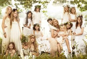 Lila Grace, filha de Kate Moss, quer seguir a carreira da mamãe