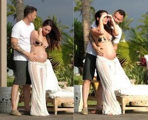 "Megan Fox está no Havaí, e a bordo de um biquíni ""Made in Brazil"""
