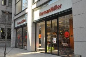 A Herman Miller acaba de abrir uma pop-up store no SoHo