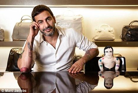 1b67a940c2e02 Marc Jacobs coloca à venda sua versão em forma de boneco – Glamurama
