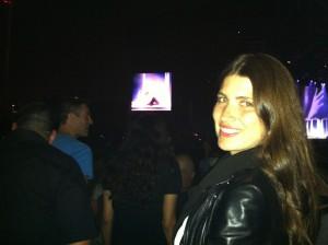 Michelle Alves conta como foi o show de Madonna em Israel