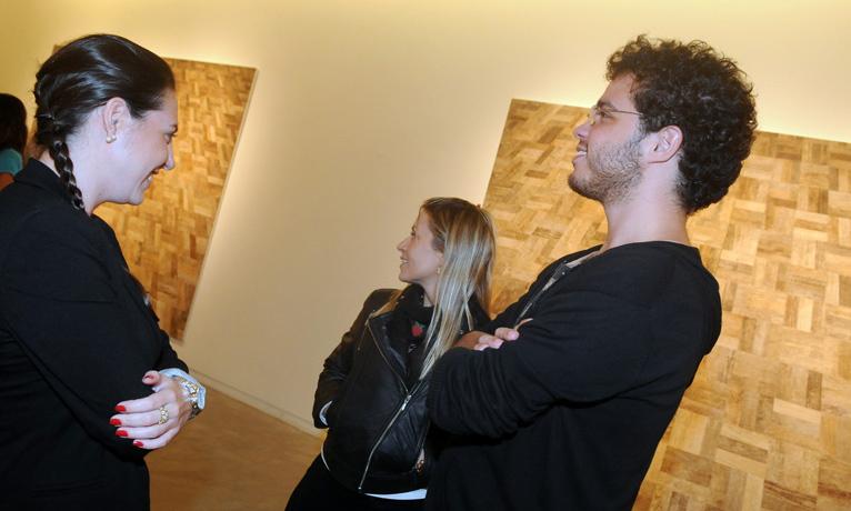Carolina Nigri, Marcele Castro Neves e Pedro Coimbra