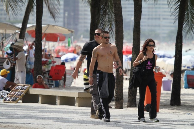Colin Farrell goes through a tourist marathon in Rio before launching movie
