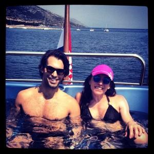 Glamurettes em alto mar na Croácia. Quem são eles?