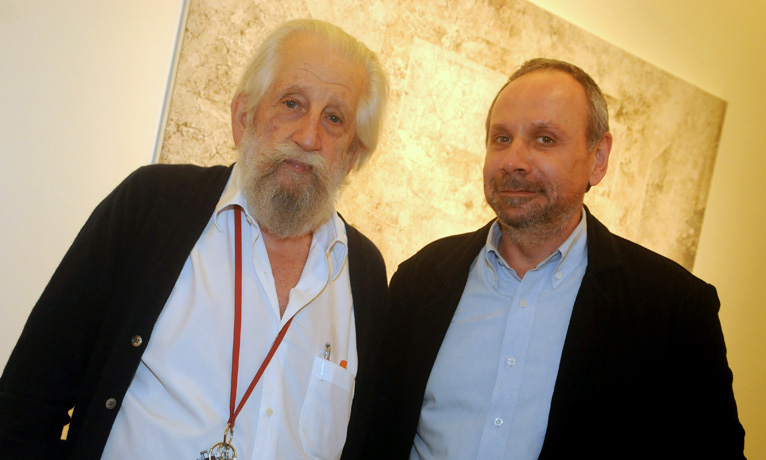 Nelson Leirner e Paulo Pasta
