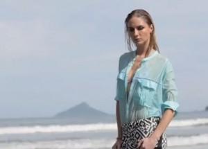 Ana Claudia Michels é a top do verão da Spezzato. Veja o vídeo do making of