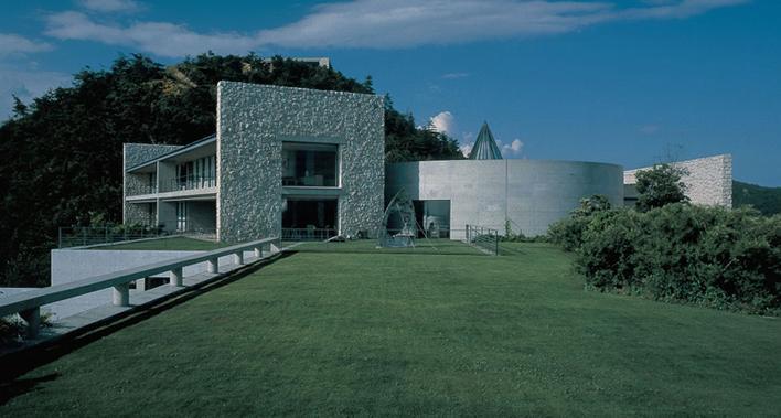 Revista Joyce Pascowitch: complexo no Japão integra arte e arquitetura