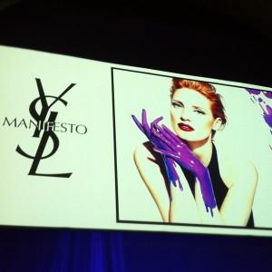 Confira a primeira imagem de Jessica Chastain para a YSL