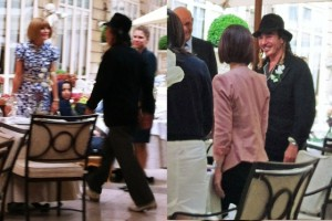 Frisson: Anna Wintour e John Galliano jantam juntos