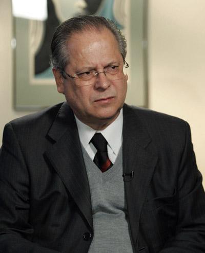 José Dirceu: ansioso, porém tranquilo, a algumas semanas do início do julgamento