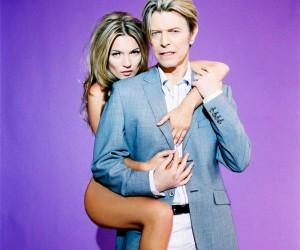 Kate Moss se inspira em David Bowie para nova empreitada fashion