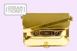 Versão dourada da PS11, da Proenza Schouler, faz corações baterem mais forte