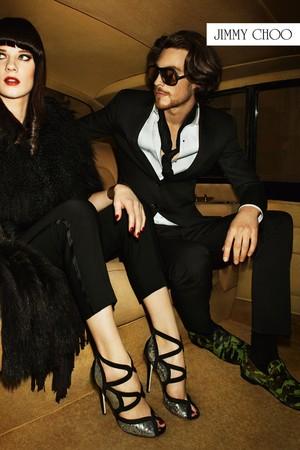 Terry Richardson fotografa nova campanha da Jimmy Choo inspirada em Mick Jagger