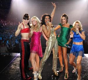 Spice Girls no palco da festa de cerimônia das Olimpíadas? Sim, pode ser