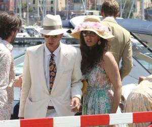 O noivado de Tatiana Santo Domingo e Andrea Casiraghi a bordo de um iate