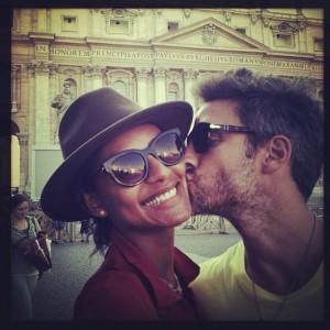 O tour romântico de Emanuela de Paula pelo paraíso de Portofino