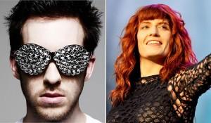 Play para ouvir a balada de Florence Welch com o DJ Calvin Harris