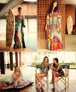 Confira as imagens da campanha de verão 2013 de Adriana Barra