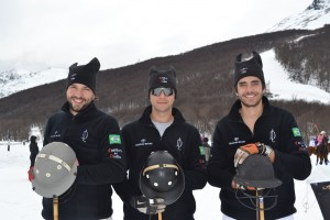 Dudu Linhares e amigos se destacam no Fin Del Mundo Snow Polo Cup
