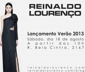 Reinaldo Lourenço lança coleção de verão 2013 neste sábado