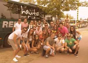 Viagem a Bélgica com a Haute é sucesso absoluto