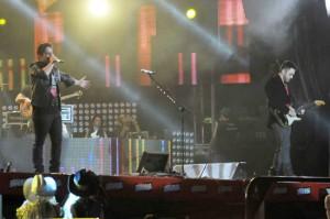 Começou o show da dupla Jorge e Mateus em Barretos. Vem ver!