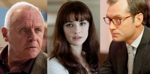 Jude Law, Anthony Hopkins e Rachel Weisz por Fernando Meirelles