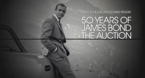 Aniversário de 50 anos de James Bond ganha leilão especial na Christie's