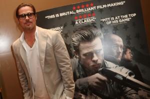 Para Brad Pitt, cuidar dos filhos é tipo um filme de ação