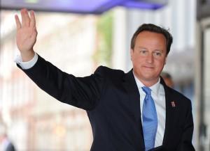 O desafio do primeiro-ministro britânico? O sofá de David Letterman