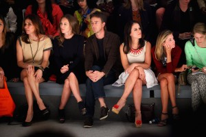 Primeira fila estrelada no desfile da Osklen na Semana de Moda de NY