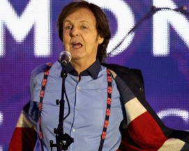 Bono Vox bem que tentou, mas o músico mais rico do mundo é Paul McCartney