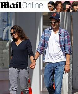 Ashton Kutcher e Mila Kunis protagonizam cenas de romance em NY